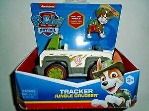"""Nickelodeon Paw Patrol Tracker Jungle Cruiser """"NEW"""""""