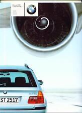 BMW 3 SERIES TOURING SE MODELS ( E46 ). 1999. 2000  SALES BROCHURE