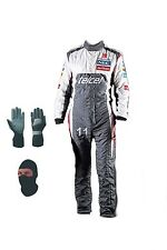 Sauber kart race suit Cik/Fia level 2 2013 style(free balaclava and gloves)