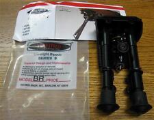 "NEW Harris BRS 6-9"" Pivoting Rifle Bipod Bench Prone Sling Swivel Mount BR S SBR"