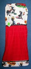 *NEW* Handmade Ants at a Barbecue Picnic Hanging Kitchen Fridge Hand Towel #602
