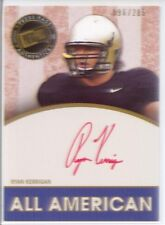 ryan kerrigan rookie rc auto autograph redskins purdue college sp red ink #/205