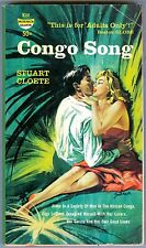 Congo Song by Stuart Cloete 1958 VG Jungle Love