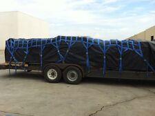 Heavy Duty Cargo Net Webbing 19' L 8' W 11' From Cam Buckle To Ratchet Great #1