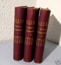 Illustrierte Sittengeschichte 3 Bände Eduard Fuchs - Jugendstil - Erstauflage