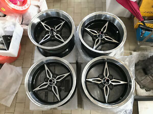 """For AE86 Datsun ta22 240z S30 s130 JDM retro riverge Style 15"""" staggered wheels"""