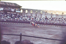 9 VINTAGE 35mm SLIDES - BULLFIGHT