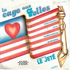 "7"" 45 TOURS FRANCE BOF/OST ""La Cage Aux Folles"" LE JETE 1983 JERRY HERMANN"