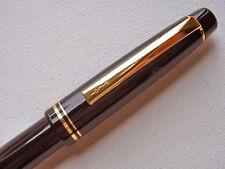 Pilot 78G GOLD RING Fountain Pen, BLACK, B nib, FP-78G