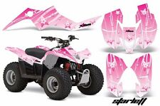 AMR Racing Suzuki LTZ 50 Quad Graphics Kit ATV Sticker Decals 06-09 STARLETT PNK