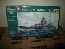 1:720 Revell German Heavy Cruiser Admiral Hipper Nr. 05117 OVP