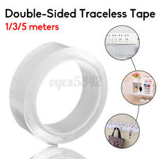 Double-Sided Adhesive Traceless Tape Clear Multifunctional Washable Removable Us
