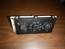 Jeep Cherokee XJ Heater Control  Fan Switch A/C 99-01  Free Shipping