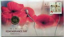 2016 Remembrance Day FDC/PNC With Limited Edition RAM $1 Coin 0289/1111 SOLD OUT