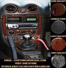 Mazda MX5 98-05 MK2 MK3 Miata Eunos Roadster Walnut Wood / Carbon Fibre Dash Kit