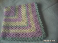 Baby Blanket for Pram / Car Seat / Crib / Moses Basket