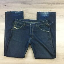 Diesel Ranan Distressed Straight Loose Fit Men's Jeans Size 32 Actual W36 (AE8)