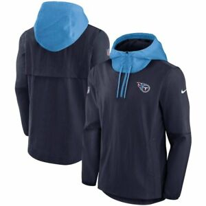 Brand New 2021 NFL Tennessee Titans Nike Sideline Player Quarter-Zip Jacket NWT
