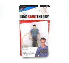 "Big Bang Theory Sheldon 3 3/4"" 3.75"" Action Figure Batman T-Shirt"