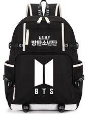 KPOP BTS Backpack Bangtan Boys Logo Bookbag SUGA J-HOPE JIMIN V Rucksack Bag neu