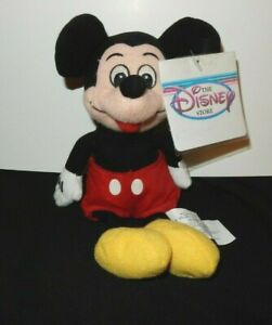 MICKEY MOUSE  Authentic Disney Store Mini Bean Bag  9 Inch  MWT