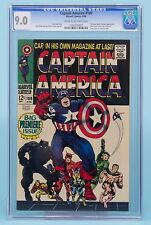 CAPTAIN AMERICA#100 CGC 9.0 1968 Marvel Comics Black Panther appears