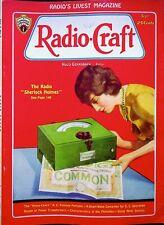 RADIO SHERLOCK HOLMES - Radio Craft Magazine SEPT 1931 editor HUGO GERNSBACK