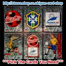 World Cup Brazil Single Football Trading Cards