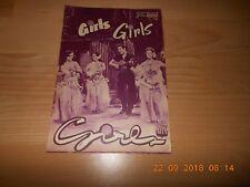 NEUES FILMPROGRAMM NR.3086 GIRLS GIRLS GIRLS ELVIS PRESLEY