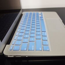 BLUE Silicone Keyboard Cover for NEW Macbook Air 11""
