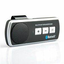 KIT VIVAVOCE BLUETOOTH AUTO MULTIPOINT UNIVERSALE SAMSUNG GALAXY IPHONE TABLET
