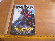 Marvel Encyclopedia HBDJ book Spider-Man Vol 4 1st print 1st edition HTF