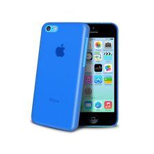 Coque Housse Etui Translucide Ultra Fine 0.3mm Pour iPhone 5C Bleue