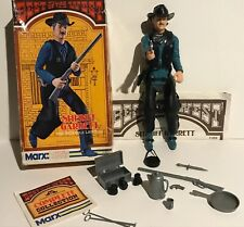 Vintage Johnny West  Sheriff Garrett in BOX Complete NICE Figure MARX BOTW Guide