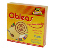MAYTE 12 Obleas con Arequipe 100 grs. / 12 Wafers with Milk Caramel 3.5 oz.