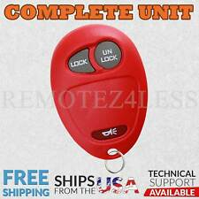 Keyless Entry Remote for 2001 2002 2003 2004 2005 Chevrolet Venture Car Key Red
