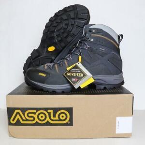 NEW Asolo Neutron GV Hiking Boots Gore-Tex+Vibram MegaGrip Graphite Sz 9-13