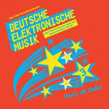 Soul Jazz Records Presents - Deutsche Elektronische Musik 3 Experimen CD