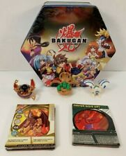 Bakugan Battle Brawlers Lot Collectible Tin Ability Gate Cards Figures