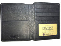 Osgoode Marley Cashmere Leather RFID Blocking Passport case Wallet