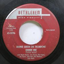 Jazz 45 Bennie Green On Trombone - Groove One / Lowland Ism On Bethlehem