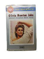 OLIVIA NEWTON-JOHN Greatest Hits Vol.2 Korean CASSETTE TAPEw/Slip Case