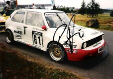 Rolf Krepschik (Special saloons) SIGNED VW Golf Mk1 photo