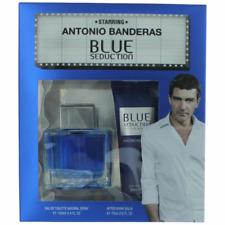 Blue Seduction by Antonio Banderas 3.4 oz 100 ml EDT Men Cologne Spray Gift Set