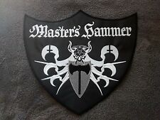 MASTER'S HAMMER,SEW ON WHITE  EMBROIDERED LARGE BACK PATCH