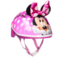 Kids Toddler Helmet Cycling Bike Ski Snowboard Head Protect Minnie Pink Small