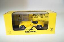 1/43 ARTMODEL Ferrari 166 Mm s gelb 012