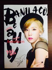 K-POP SNSD TaeYeon x Banila Co. Model TaeYeon Official Promotion Photobook