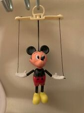 New listing Vintage Mickey Mouse Marionette Puppet- Great Condition! -Disney-