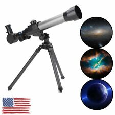 60mm Astronomical Refractor Telescope Refractive Eyepieces Tripod Beginners Kid!